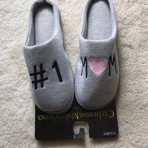 👠👠HP👠👠NWT Catherine Malandrino #1 Mom slippers